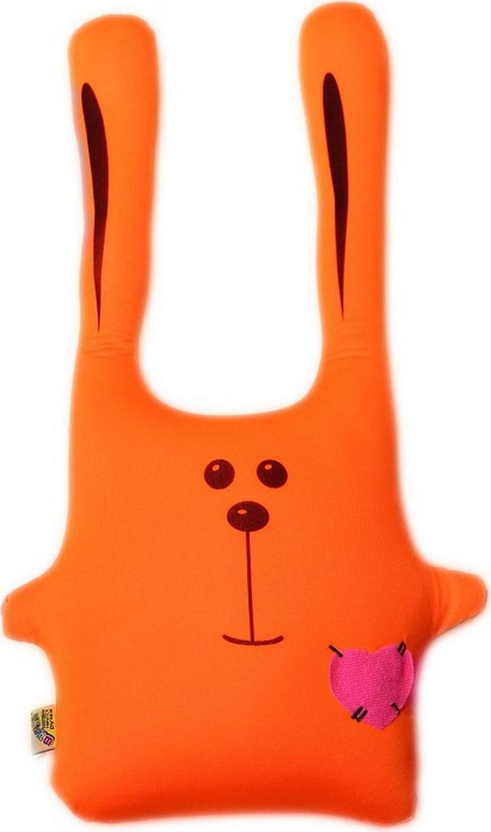 Подушка-игрушка антистрессовая Штучки, к которым тянутся ручки Заяц Ушастик. 11аси01-2ив-5 sima land антистрессовая игрушка заяц ушастик