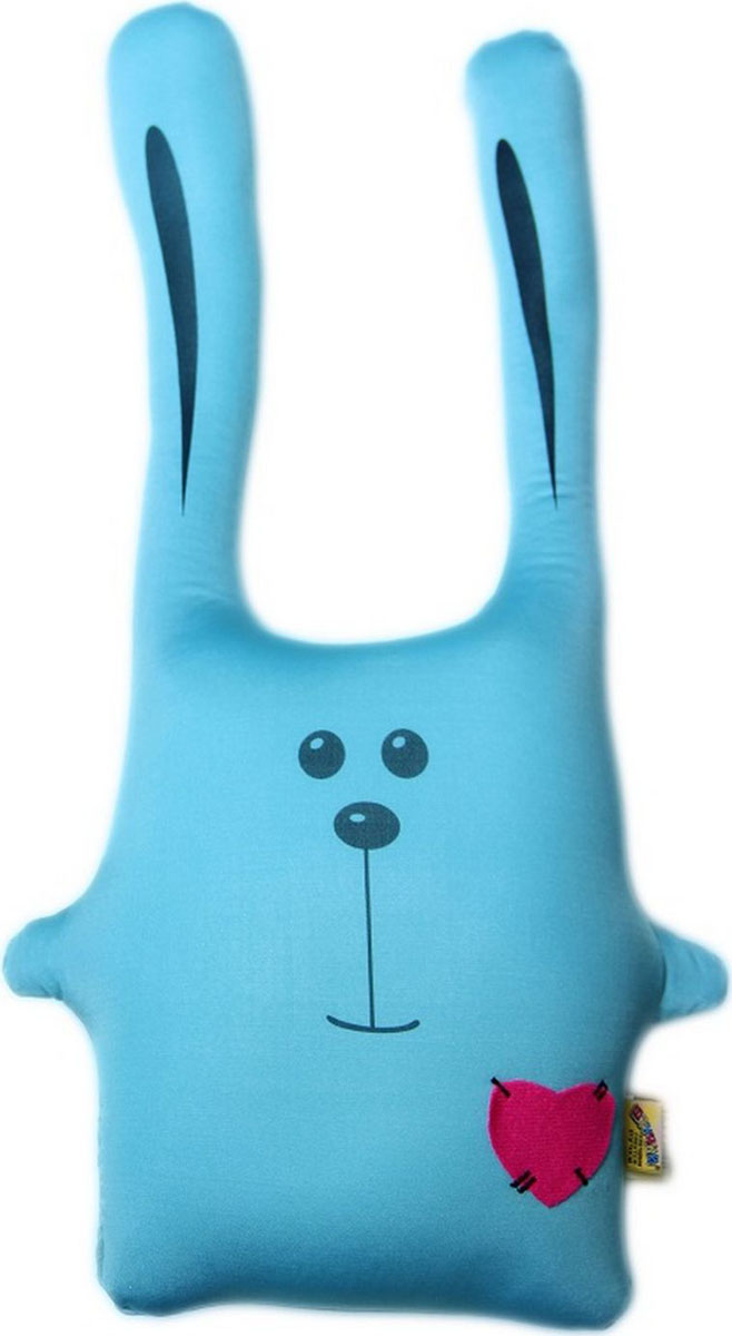 Подушка-игрушка антистрессовая Штучки, к которым тянутся ручки Заяц Ушастик. 11аси01ив-4 sima land антистрессовая игрушка заяц ушастик
