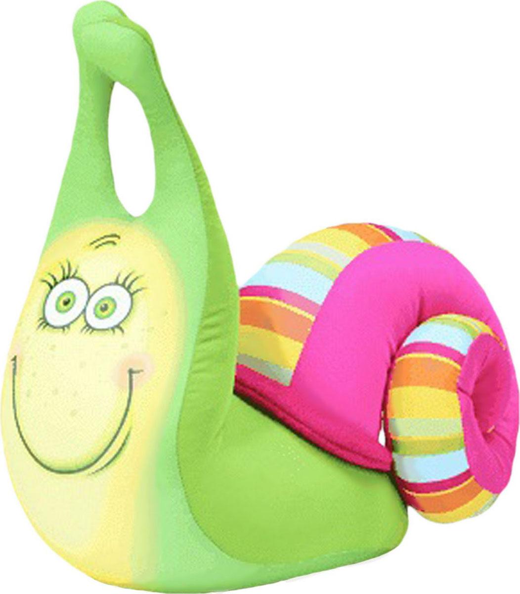Подушка-игрушка антистрессовая Штучки, к которым тянутся ручки  Улитка Уля . 13аси32гив-3 - Мягкие игрушки