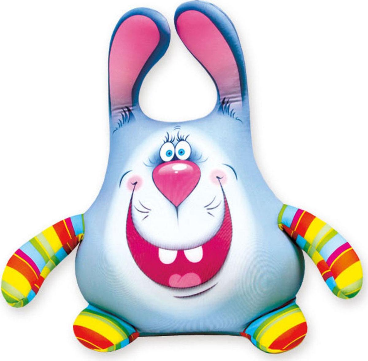Подушка-игрушка антистрессовая Штучки, к которым тянутся ручки  Кролик Степа . 14аси26ив - Мягкие игрушки