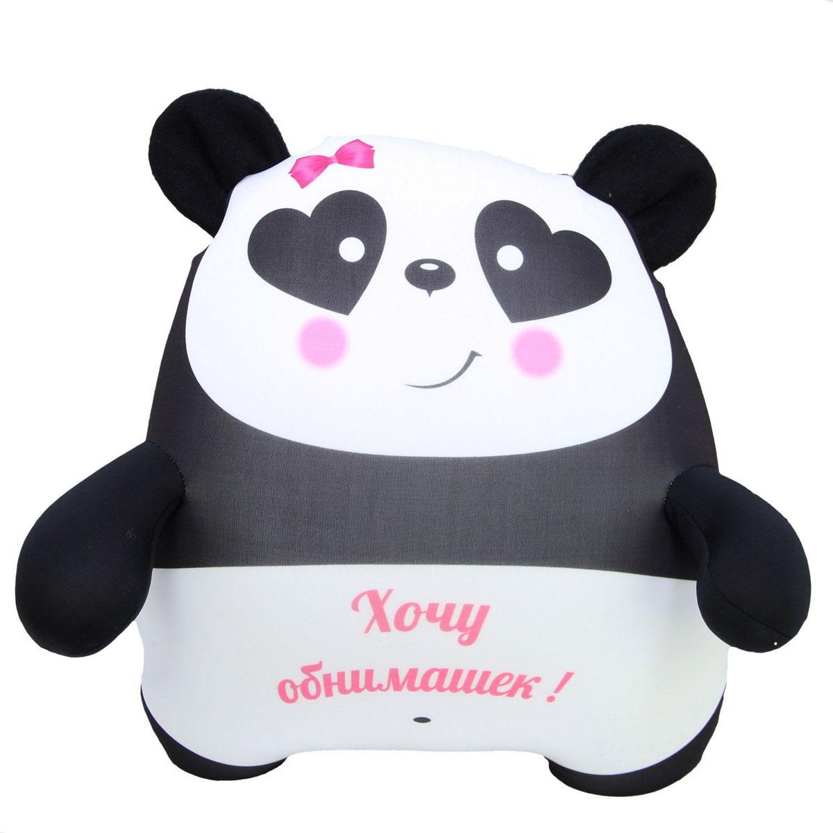 """Подушка-игрушка антистрессовая Штучки, к которым тянутся ручки """"Панда"""". 15асп42ив-3"""