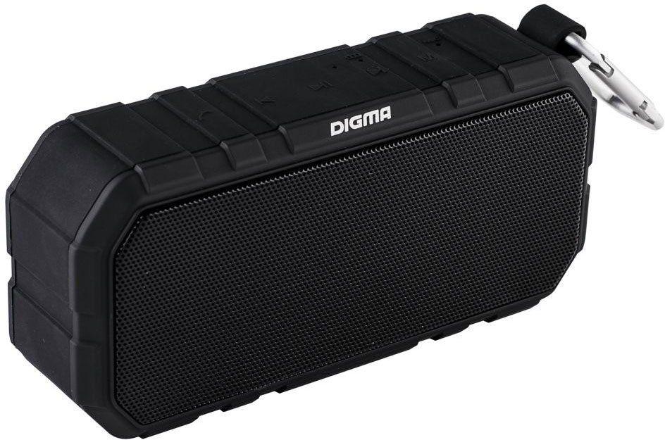 Digma S-40, Black портативная акустическая система детские компьютеры s s музыкальные зверята