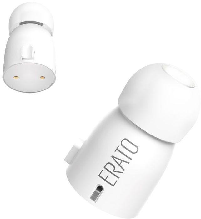 Erato Verse, White беспроводные наушникиAEVE00WH00Благодаря новой графеновой технологии динамиков, Verse обеспечивает бескомпромиссное качество звука, богаче и чище и по-прежнему придерживается легкого дизайна по размеру пули. Verse также оснащена совершенно новыми амбушюрами SpinFit, которые могут вращаться на 360 °, что делает наушники полностью совместимыми с вашими ушами. С Erato Verse вы получите максимальное удовольствие от прослушивания аудио.