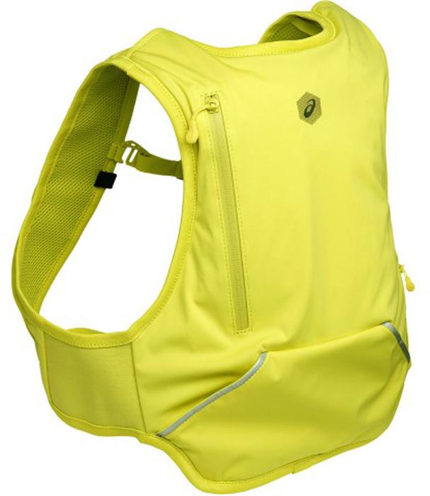 Рюкзак Asics Running Backpack, цвет: желтый. 155017-0486-S goog yu man s canvas backpack travel schoolbag male large backpack men large capacity rucksack shoulder school bag