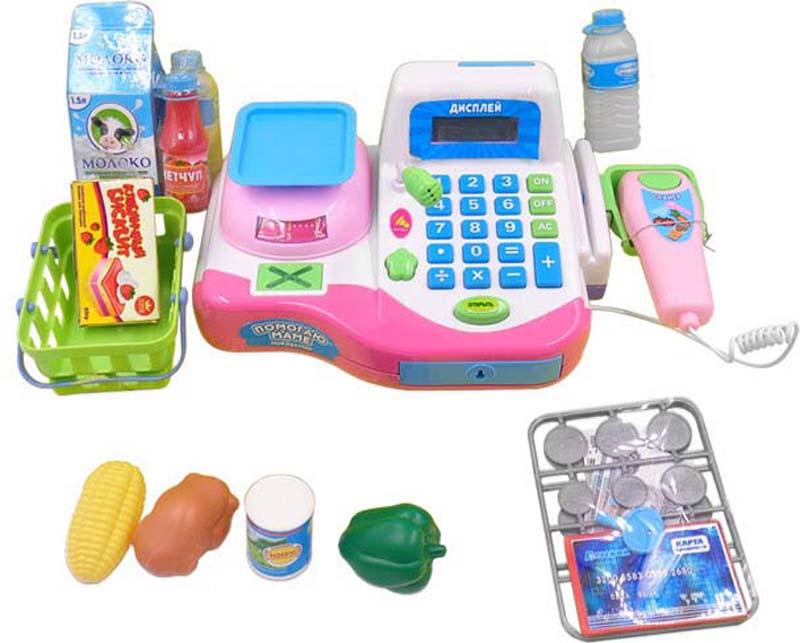 ABtoys Игровой набор Касса Помогаю Маме 42 предмета - Сюжетно-ролевые игрушки