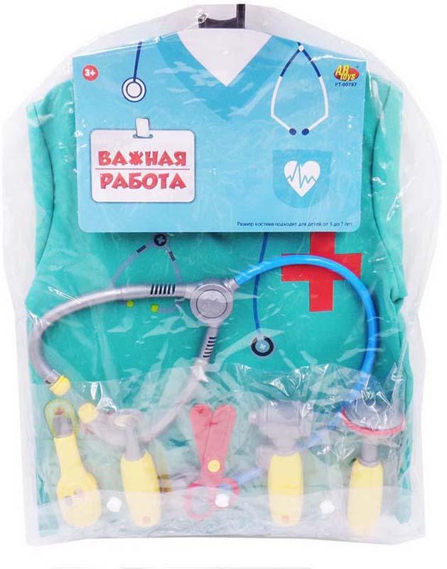 ABtoys Форма доктора Важная работа 10 предметов - Сюжетно-ролевые игрушки
