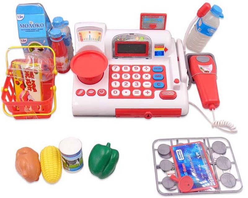 ABtoys Игровой набор Касса Помогаю Маме 41 предмет abtoys 41 предмет