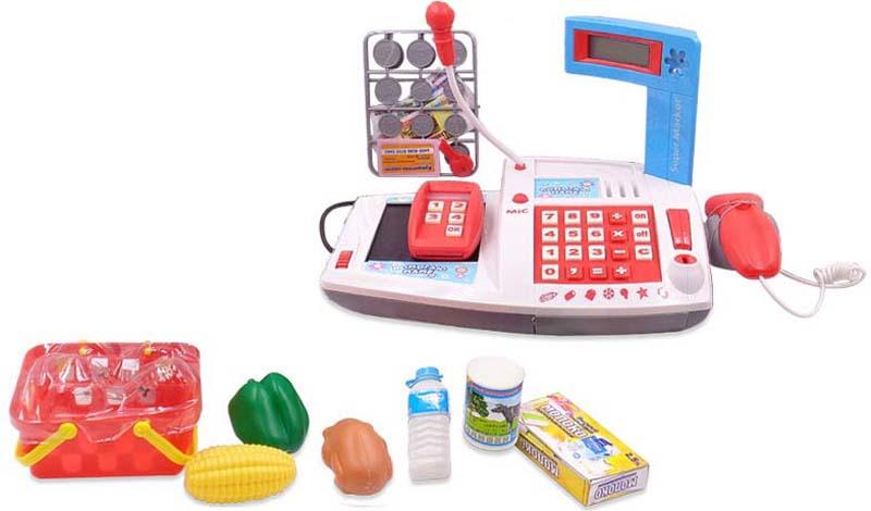 ABtoys Игровой набор Касса Помогаю Маме 40 предметов 106975 - Сюжетно-ролевые игрушки