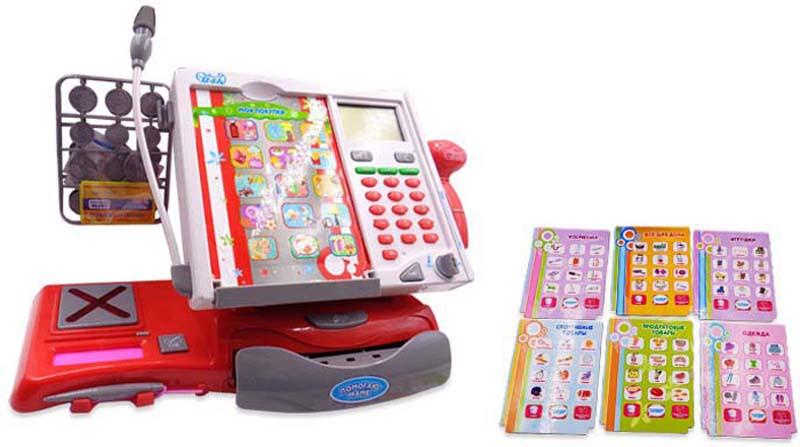 ABtoys Игровой набор Касса Помогаю Маме 40 предмет 106976 - Сюжетно-ролевые игрушки