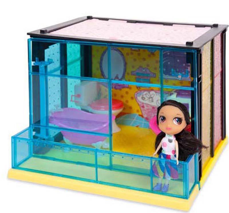 ABtoys Игровой набор с куклой Модный дом Ванная комната 35 деталей ванная комната мди