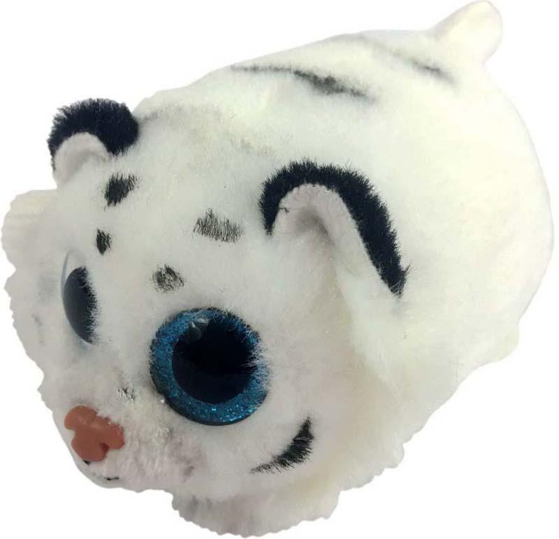 ABtoysМягкая игрушка Тигренок цвет белый 10 см ABtoys