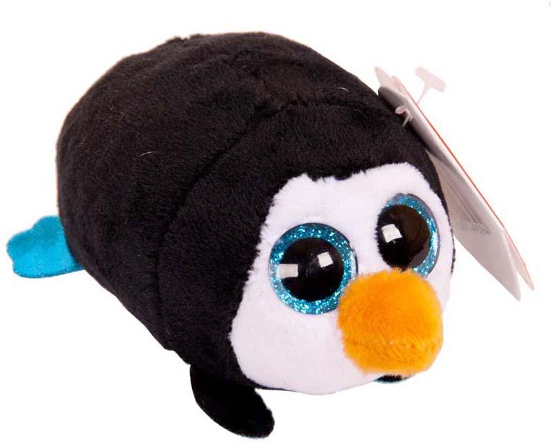Teddy Мягкая игрушка Пингвин цвет черный 10 см teddy мягкая игрушка собака в голубом пиджаке 18 см