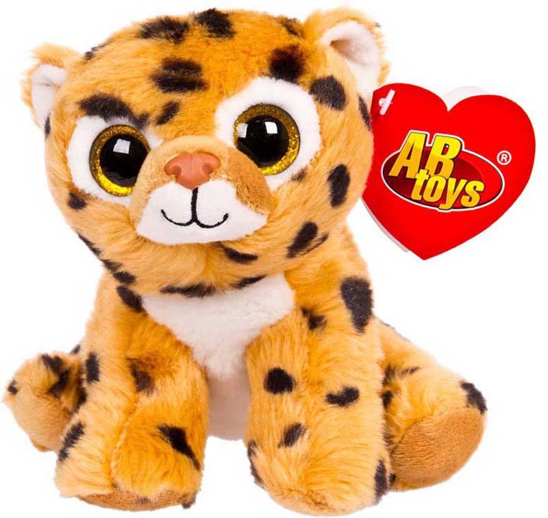 ABtoys Мягкая игрушка Леопард 15 см 109323 abtoys мягкая игрушка леопард 10 см