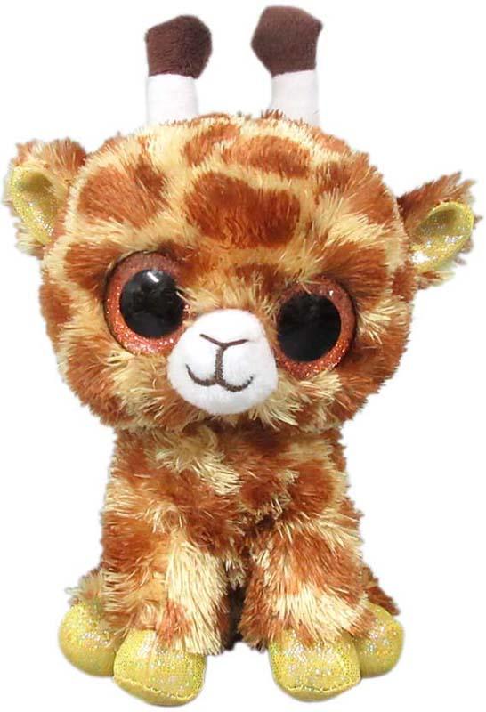 Teddy Мягкая игрушка Жираф 15 см teddy мягкая игрушка собака в голубом пиджаке 18 см