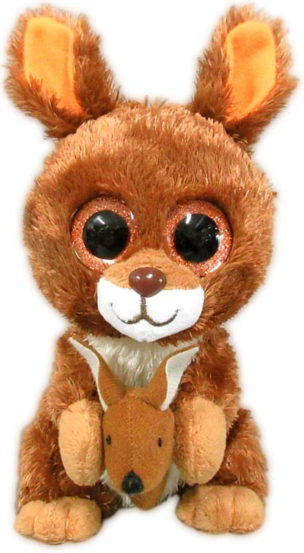 Teddy Мягкая игрушка Кенгуренок 15 см teddy мягкая игрушка собака в голубом пиджаке 18 см