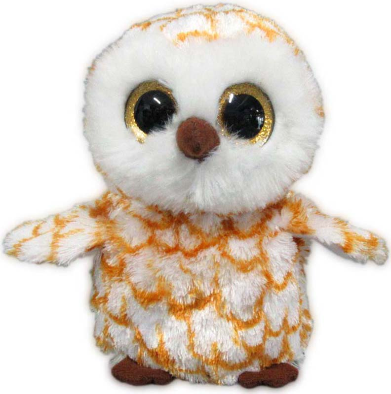 Teddy Мягкая игрушка Совенок цвет коричневый 15 см teddy мягкая игрушка собака в голубом пиджаке 18 см