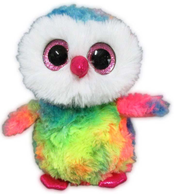 Teddy Мягкая игрушка Совенок цвет разноцветный 15 см teddy мягкая игрушка собака в голубом пиджаке 18 см