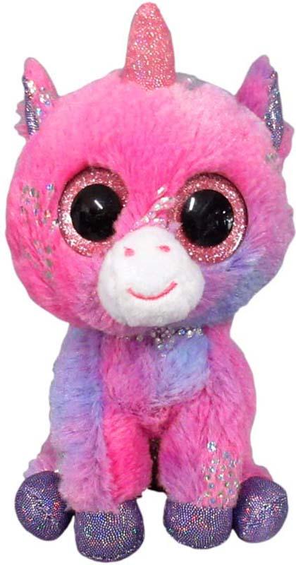 Teddy Мягкая игрушка Единорог 15 см teddy мягкая игрушка собака в голубом пиджаке 18 см