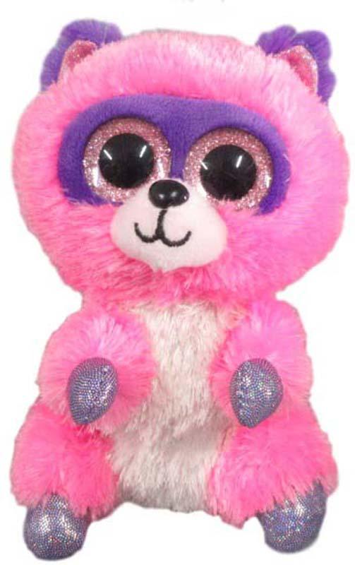 Teddy Мягкая игрушка Енотик 15 см teddy мягкая игрушка собака в голубом пиджаке 18 см
