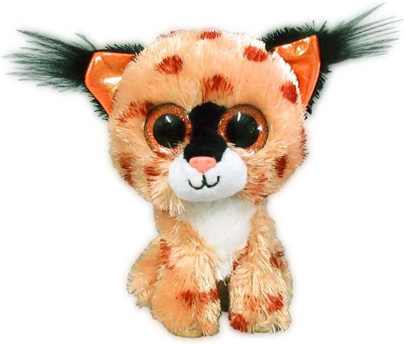 Teddy Мягкая игрушка Рысь 15 см teddy мягкая игрушка собака в голубом пиджаке 18 см