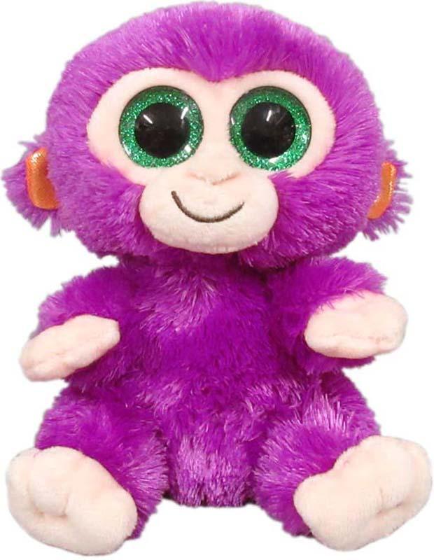Teddy Мягкая игрушка Обезьянка 15 см teddy мягкая игрушка собака в голубом пиджаке 18 см