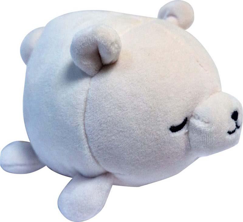 Teddy Мягкая игрушка Медвежонок цвет белый 13 см teddy мягкая игрушка собака в голубом пиджаке 18 см