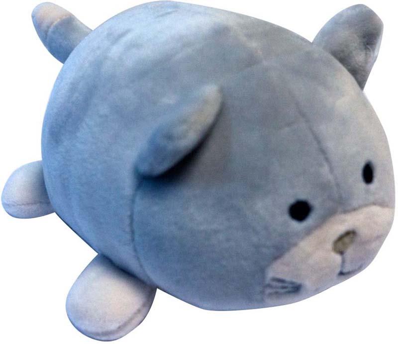 Teddy Мягкая игрушка Кошечка цвет серый 13 см teddy мягкая игрушка собака в голубом пиджаке 18 см