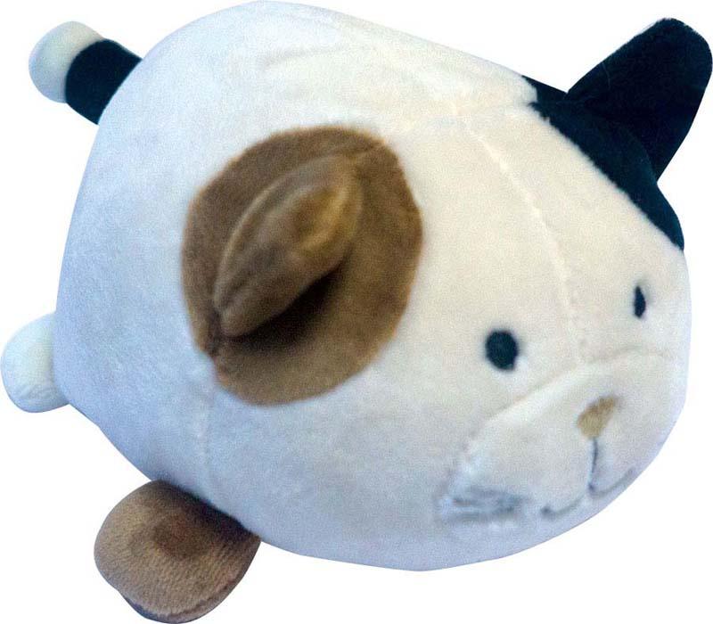 Teddy Мягкая игрушка Кошечка цвет светло-коричневый 13 см teddy мягкая игрушка собака в голубом пиджаке 18 см