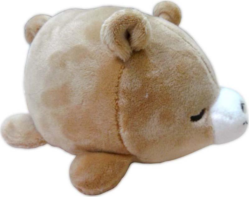 Teddy Мягкая игрушка Медвежонок цвет коричневый 13 см teddy мягкая игрушка собака в голубом пиджаке 18 см