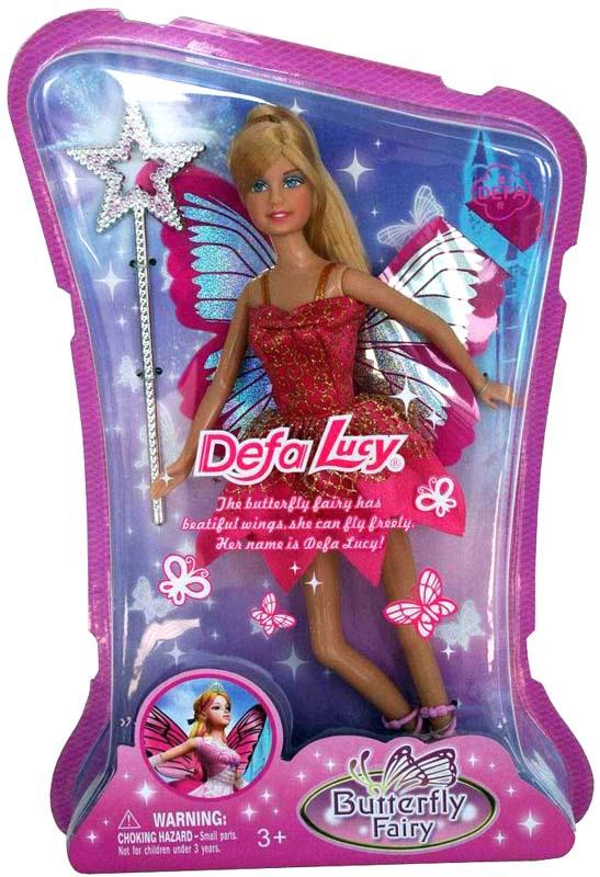 Defa Toys Кукла Бабочка-фея кукла defa lucy 6023