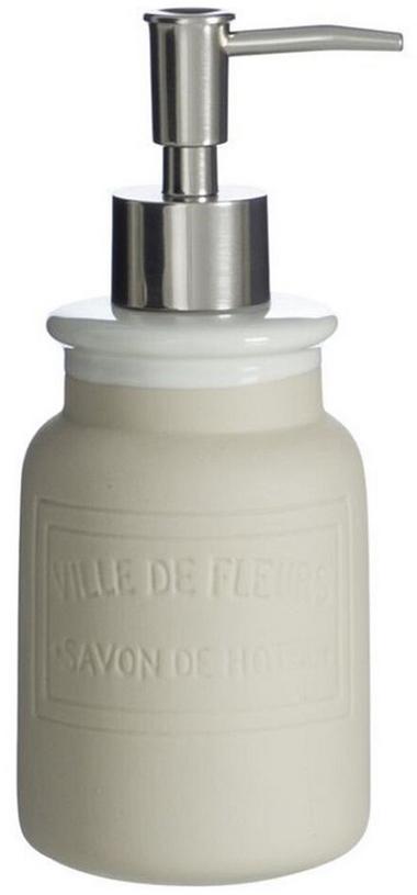Дозатор для жидкого мыла DCasa Marseille, цвет: бежевый, 350 мл2293444BДозатор для жидкого мыла Marseille 350мл бежевый