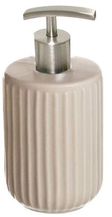 Дозатор для жидкого мыла D'Casa Manhattan, цвет: бежевый, 400 мл мыльница d casa manhattan цвет бежевый