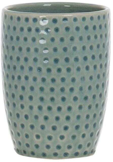 Стакан для зубных щеток D'Casa Misty, цвет: бирюзовый