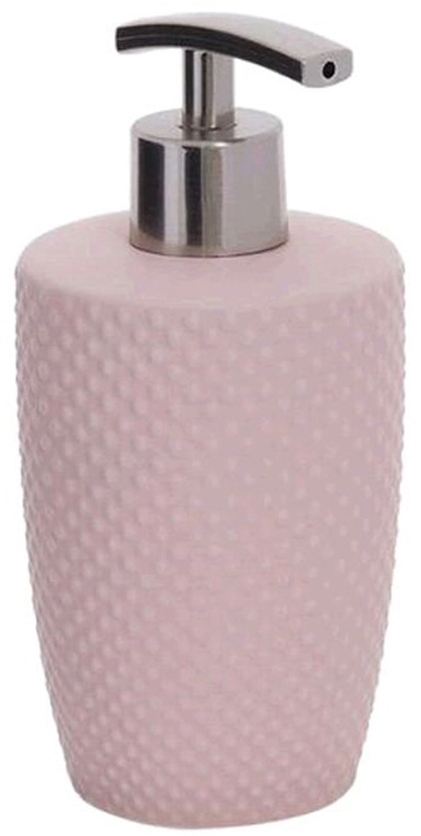 Дозатор для жидкого мыла D'Casa Ostrich, цвет: розовый, 350 мл palm бежевый дозатор для жидкого мыла
