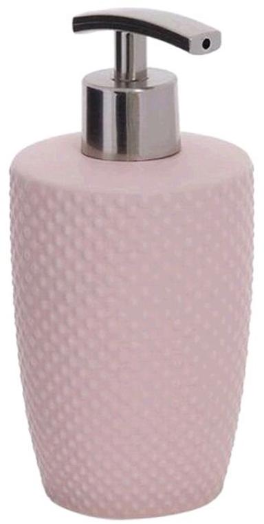 Дозатор для жидкого мыла D'Casa Ostrich, цвет: розовый, 350 мл дозатор для жидкого мыла creative bath ruffles ruf59wh