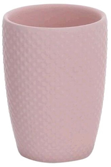 Стакан для зубных щеток D'Casa Ostrich, цвет: розовый trio стакан для зубных щёток
