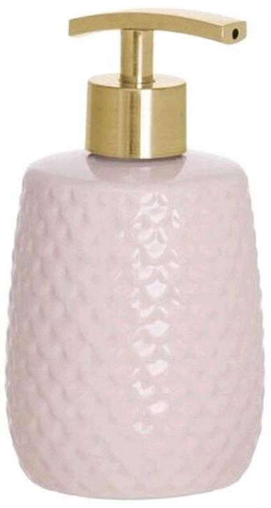 Дозатор для жидкого мыла Scale 350мл розовый