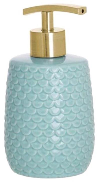 Дозатор для жидкого мыла DCasa Scale, цвет: бирюзовый, 350 мл2293511TДозатор для жидкого мыла Scale 350мл бирюзовый