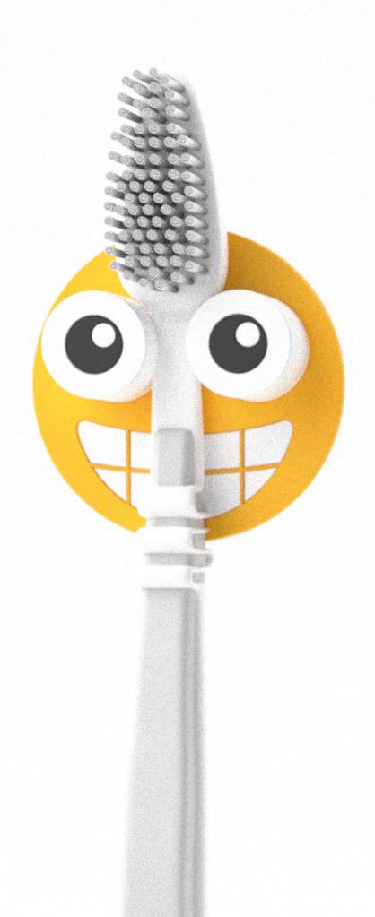 """Держатель для зубной щетки """"Emoji"""" от испанского бренда Balvi поможет быстрее проснуться с утра, заразит бодростью и позитивом на весь день всех членов семьи. Держатель крепится на стену с помощью присоски и не занимает много места, а сочный цвет подарит отличное настроение и привнесет ярких красок в интерьер ванной комнаты. Украсьте свою ванну оригинальными аксессуарами от Balvi и сделайте процесс чистки зубов веселым!"""