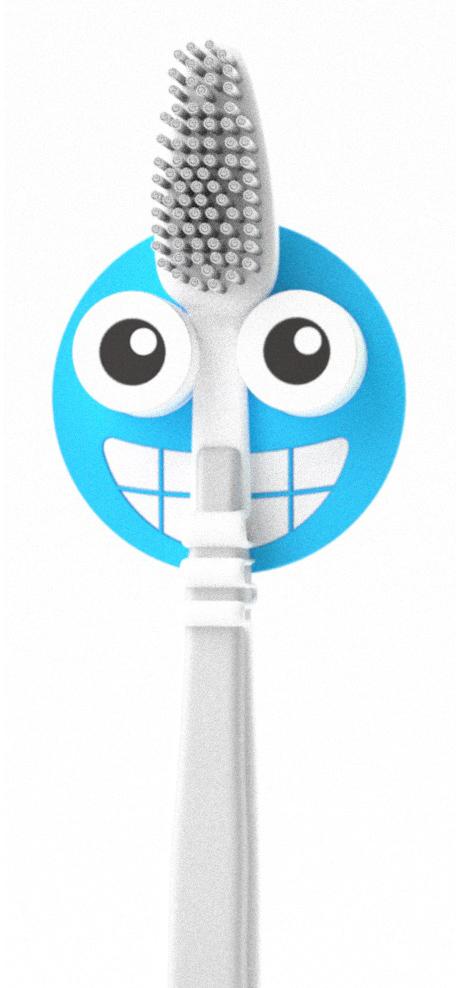 Держатель для зубной щетки Balvi Emoji, цвет: синий26349Держатель для зубной щетки Emoji от испанского бренда Balvi поможет быстрее проснуться с утра, заразит бодростью и позитивом на весь день всех членов семьи. Держатель крепится на стену с помощью присоски и не занимает много места, а сочный цвет подарит отличное настроение и привнесет ярких красок в интерьер ванной комнаты. Украсьте свою ванну оригинальными аксессуарами от Balvi и сделайте процесс чистки зубов веселым!