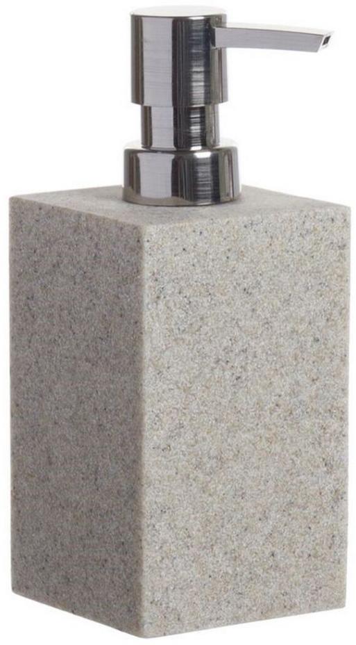 Дозатор для жидкого мыла D'Casa Arena, цвет: бежевый, 350 мл. 268453 дозатор жидкого мыла grampus laguna gr 7812