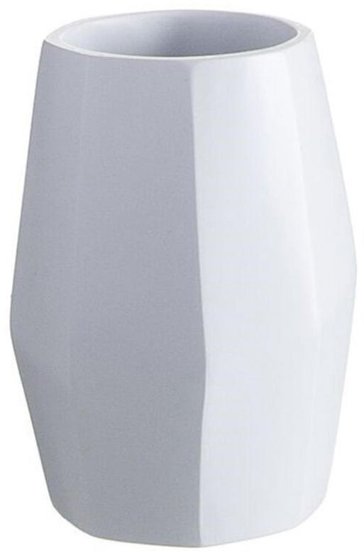 Оригинальный стакан для зубных щеток впишется в дизайн любой ванной. Аксессуар выполнен из керамики - натурального, экологичного и вместе с тем безопасного материала для ванных принадлежностей. Даже если стакан разобьется, керамическими осколками почти невозможно пораниться, в отличие от стеклянных. А убрать их гораздо легче. Вместе с тем, керамический стакан тяжелее и устойчивее, чем пластиковый, легко очищается, не царапается, не теряет внешний вид. И приятнее в использовании, как все натуральные материалы.