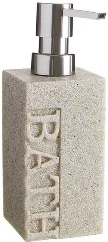 Дозатор для жидкого мыла DCasa Arena Bath, цвет: бежевый, 250 мл268491Дозатор для жидкого мыла Arena Bath объемом 250 мл. Он изготовлен из керамики. Дозатор удобен в использовании и отлично впишется в интерьер вашей ванной комнаты.