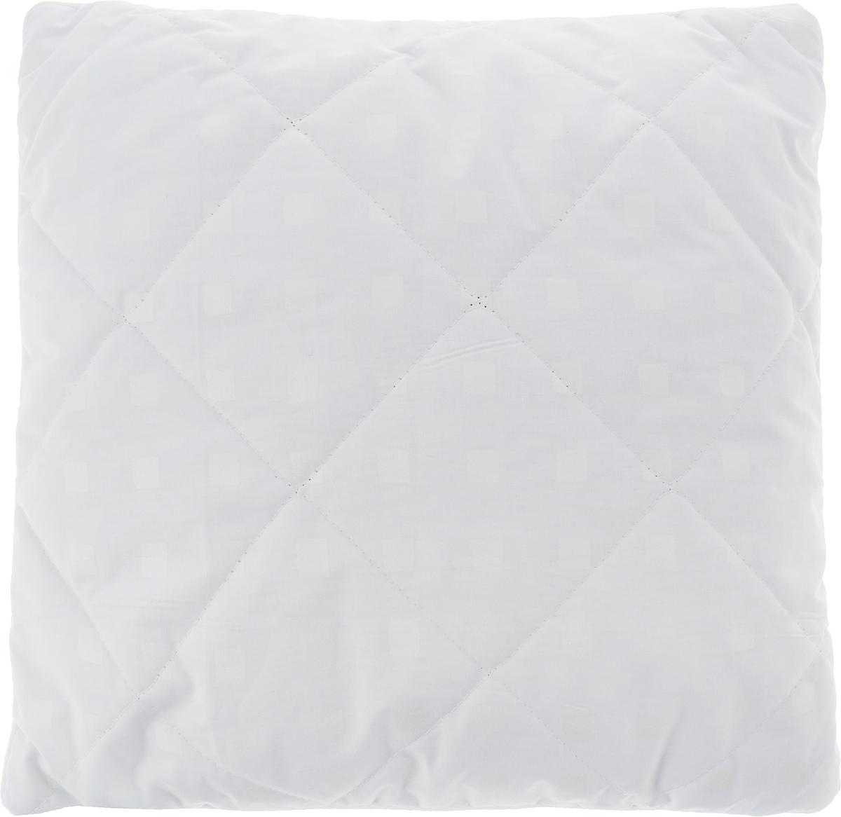 """Подушка Bio-Teхtiles """"Очарование"""", наполнитель: искусственный лебяжий пух, цвет: белый, 40 х 40 см, Bio-Textiles"""