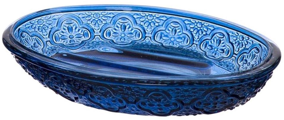 Мыльница DCasa Crystal , цвет: синий269945BМыльница Crystal синяя
