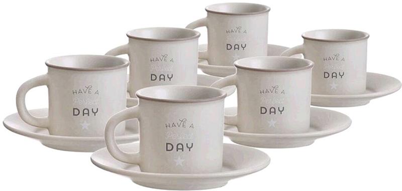 Набор чашек для кофе Bistro 100мл 6шт.