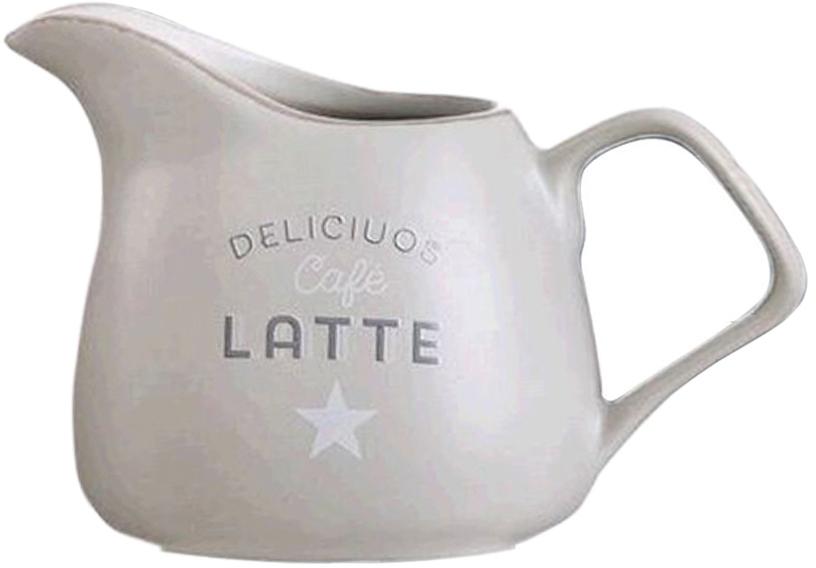 Молочник DCasa Bistro, цвет: бежевый, 270 мл270081BЭлегантный молочник DCasa, выполненный из высококачественной керамики с глазурованным покрытием, предназначен для подачи сливок, соуса и молока. Изящный, но в тоже время простой дизайн молочника, станет прекрасным украшением стола.