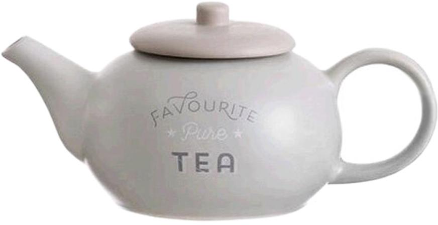 """Заварочный чайник """"Bistro"""" изготовлен из высококачественной керамики. Такой чайник не только послужит для приготовления вкусного чая, но и украсит сервировку стола."""