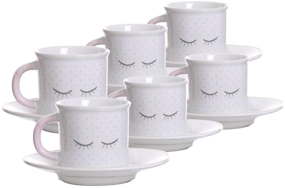 Набор чашек для кофе Chic 100мл 6шт.