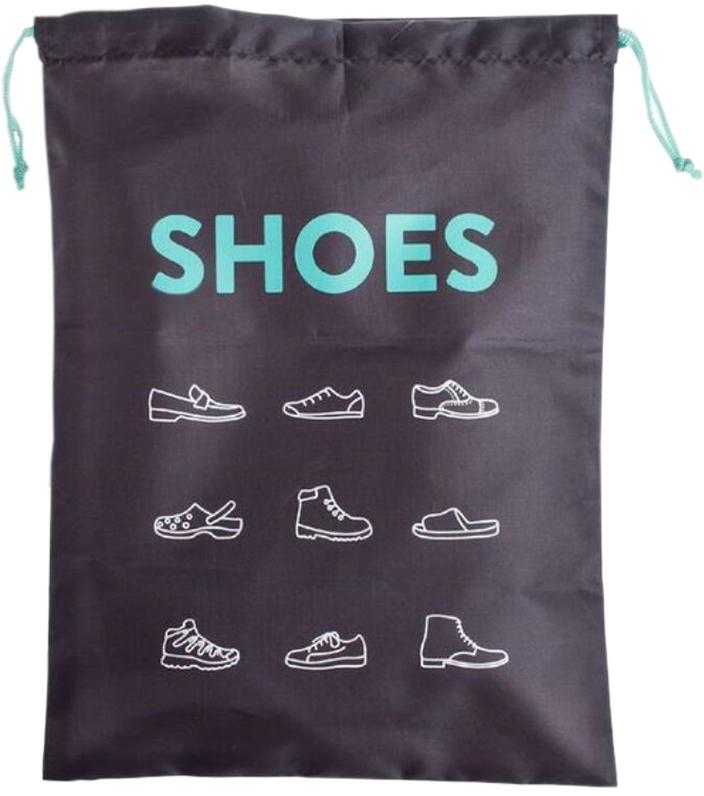 Сумка для обуви DCasa Shoes, цвет: темно-серый, бирюзовый, 30 х 30 см270579TСумка для обуви DCasa Shoes. Лёгкий спортивный мешок для переноски экипировки. Прекрасно послужит как для походов в спортзал, так и для поездок на отдых и в путешествиях. Отлично подойдет для переноски обуви, одежды, перчаток. Верх сумки затягивается двумя контрастными шнурками. Сумка для обуви Shoes бирюзовая.